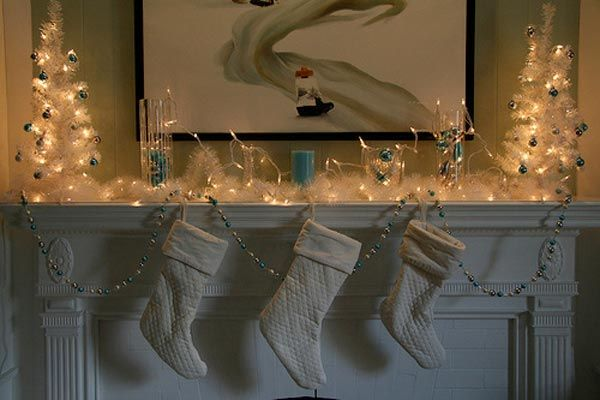 Most Excellent Fireplace Mantel Christmas Decorating Ideas 600 x 400 · 37 kB · jpeg