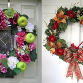 Christmas Wreath 2010 34 Great Christmas Wreath Decorating Ideas Picture 6