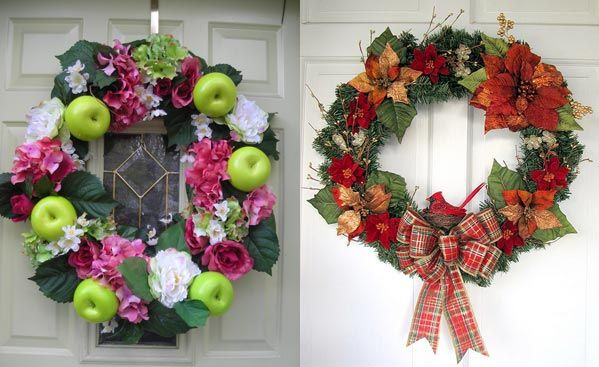 Special Christmas Wreath Decorating Ideas Christmas Wreath 2010 34 ...