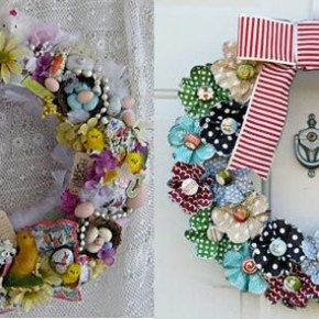 Christmas Wreaths 34 Great Christmas Wreath Decorating Ideas Photo 1