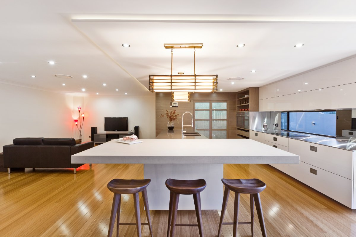 Simple Elegant Design East Meets West Kitchen by Darren James