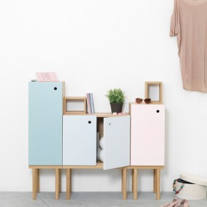 Collage Cabinet A  Multifunctional, Versatile Furniture for the Bathroom from Ex.t