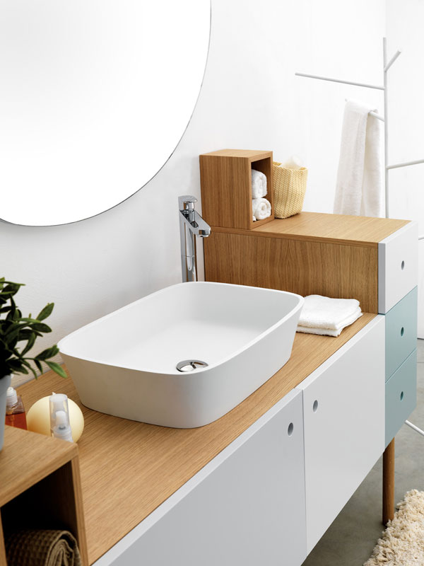 Beautiful and Multifunctional Bathroom Furniture