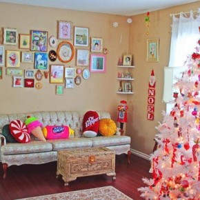 Colorful Christmas Decor 26 Christmas Decorating Ideas for Your Home Wallpaper 10