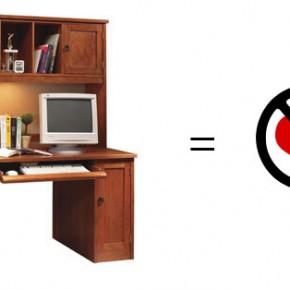 Computer Desk No Love  11 Modern Minimalist Computer Desks  Pict  1