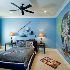 20 superhero bedroom theme ideas for boys and girls - Cool room painting ideas ...