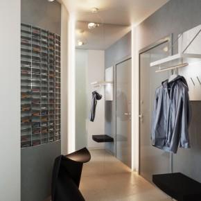 Corridor Decoration  Small Apartment Design in St.Petersburgh  Image  9