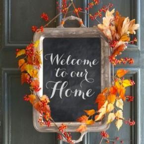 20 Thanksgiving Home Door Decoration Ideas