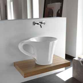 Cup Appoggio L 0069  Bringing Creativity into the Bathroom with Meneghello Paolelli Associati