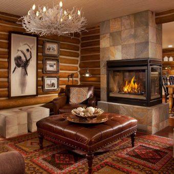 20 Rustic Country Home Interior Design Ideas