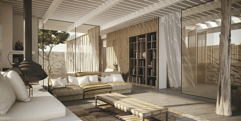 Desert House Interior Desert Home Photo 9 Interior