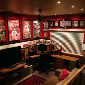 20 sports man cave ideas interior design center inspiration for 49ers room decor