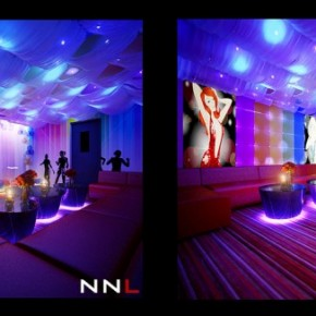 Fabric Ceiling Nightclub 665x326  Dream Home Interiors by Open Design  Pict  30