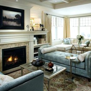 Excellent Family Room With Fireplace And Tv Irlydesign.com