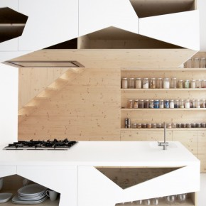 Fancy Kitchen Storage  Home by i29 Architects  Image  7