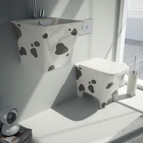 Final Cow Decoro 02  Bringing Creativity into the Bathroom with Meneghello Paolelli Associati   Wallpaper 15