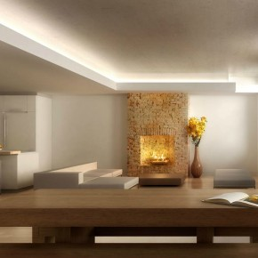 Fireplace Focus  Architectural Renderings By Dbox  Image  4