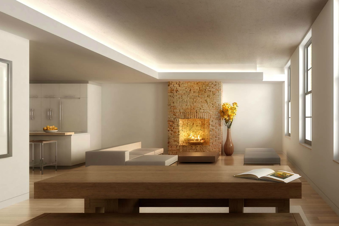 Home Spa Design Ideas: Fireplace Focus Architectural Renderings By Dbox Image 4