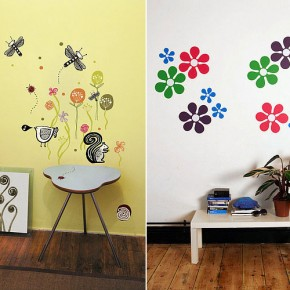 Flower Nature Wall Stickers  Kids Wall Stickers  Pict  2