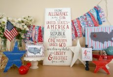 20 Patriot Mantel Ideas
