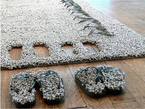 Funny rug slippers design fendinteriors.com