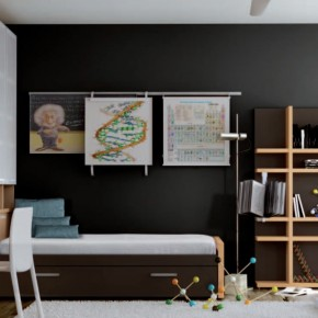Scientist Themed Kids Room Themed Teen Rooms (For Artist, Dancer ...