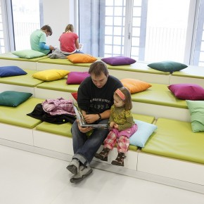 Green Sitting Space For Children  The New Stuttgart City Library  Picture  14