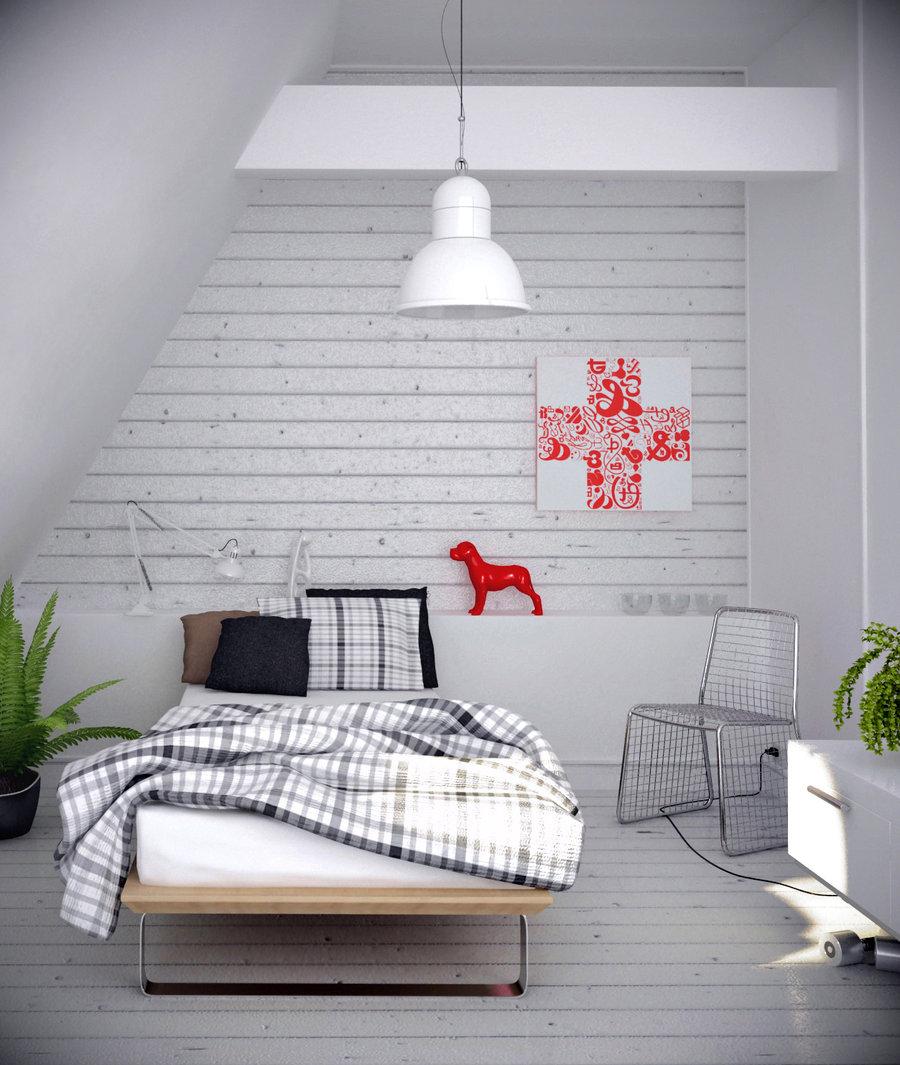 Grey bedroom interiors minimalist for Minimalist grey bedroom