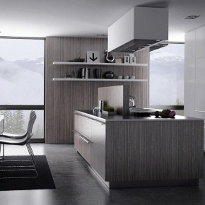 Grey Kitchen  Moody Melancholic Interiors  Wallpaper 11