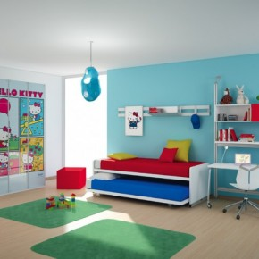 International ideas for kids rooms decorations interior for Art decoration international