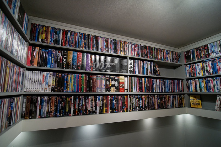 Home Movie Collection A Massive Home Entertainment Setup Photo 10 Interior Design Center