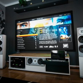 Home Theatre System  A Massive Home Entertainment Setup  Pict  4