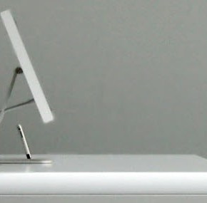 IMac Idesk Sideview  11 Modern Minimalist Computer Desks  Pict  14