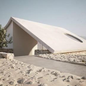 Isolated Desert Residence  Desert Home  Wallpaper 4