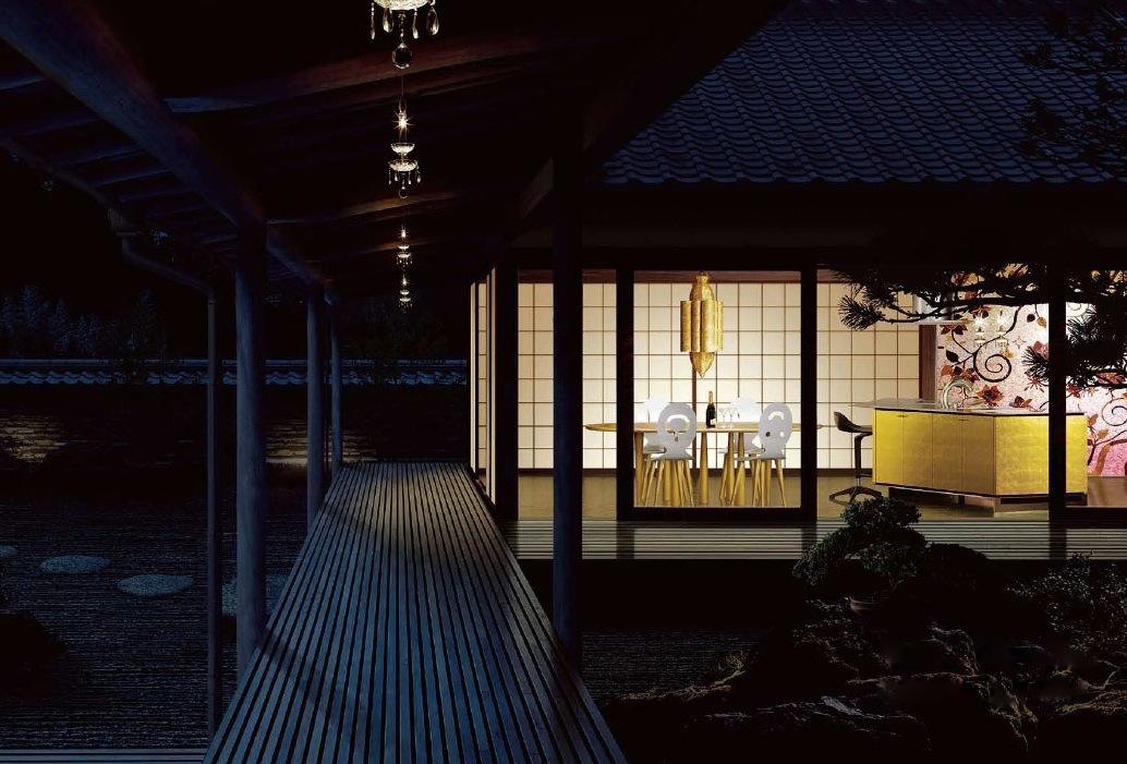 Japanese interiors modern japanese kitchens image 1 for Modern japanese kitchen design by toyo kitchen