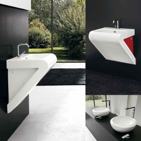 La Fontana Triangle Basin  Unique Bathrooms by ArtCeram  Picture  14