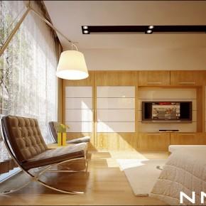Light Wood White Interior  Dream Home Interiors by Open Design Photo  25