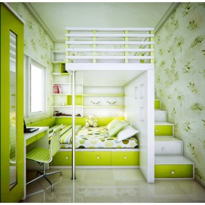 Lime Green Room  Kids Room Inspiration  Pict  2