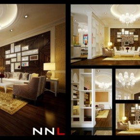 Living Room Divider 665x394  Dream Home Interiors by Open Design  Wallpaper 24