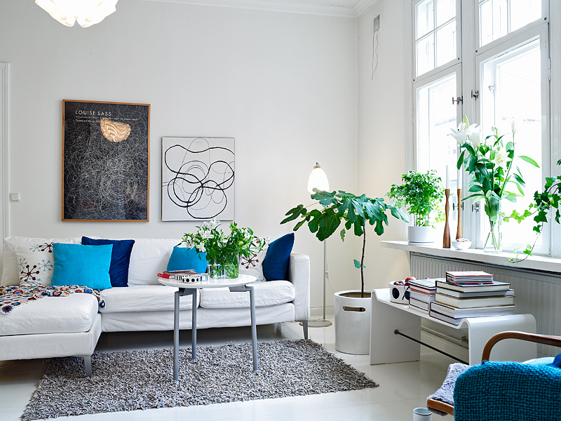 Brilliant Living Room with Plants 800 x 600 · 340 kB · jpeg