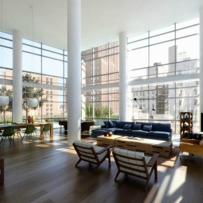 Loft With View  Architectural Renderings By Dbox Photo  8