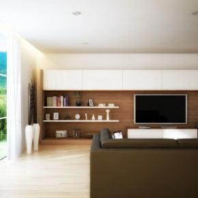 Long Tv Wall Unit  Living Rooms Round Up  Picture  9