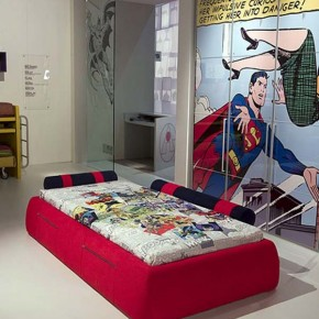 20 ocean bedroom ideas home design interior decorating for Superhero bedroom ideas