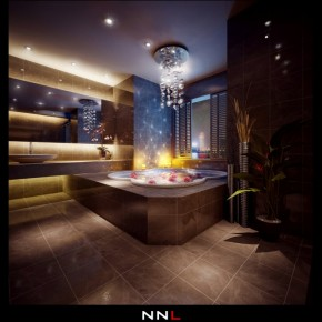 Luxurious Bathroom 665x694  Dream Home Interiors by Open Design Photo  23