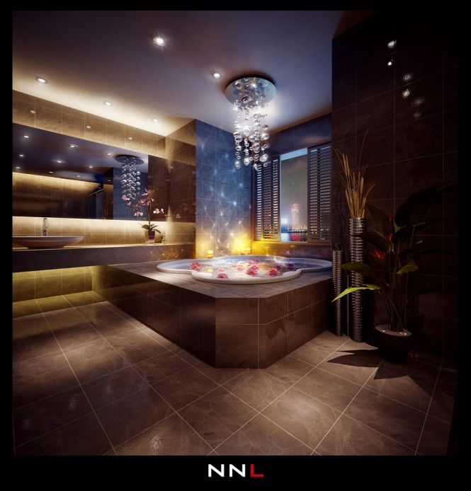 Luxurious Bathroom 665 694 Dream Home Interiors By Open