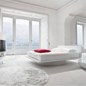 Luxury White Red Bedroom2 665x499  Luxury Beds from Bonaldo  Wallpaper 1