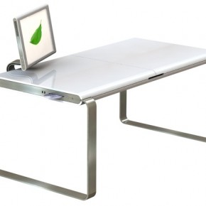 Mac PC Hybrid Desk  11 Modern Minimalist Computer Desks  Image  19