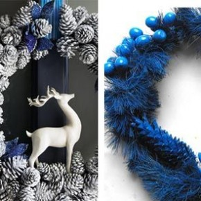 Modern Christmas Wreath 34 Great Christmas Wreath Decorating Ideas Picture 12