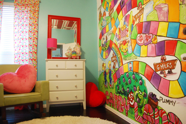 Bedroom ideas interior design center inspiration for Candy themed bedroom ideas