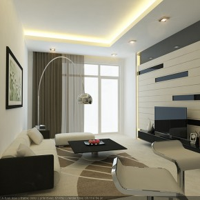 Modern Living Wall  Rooms That Make Us Keep Coming Back  Picture  1